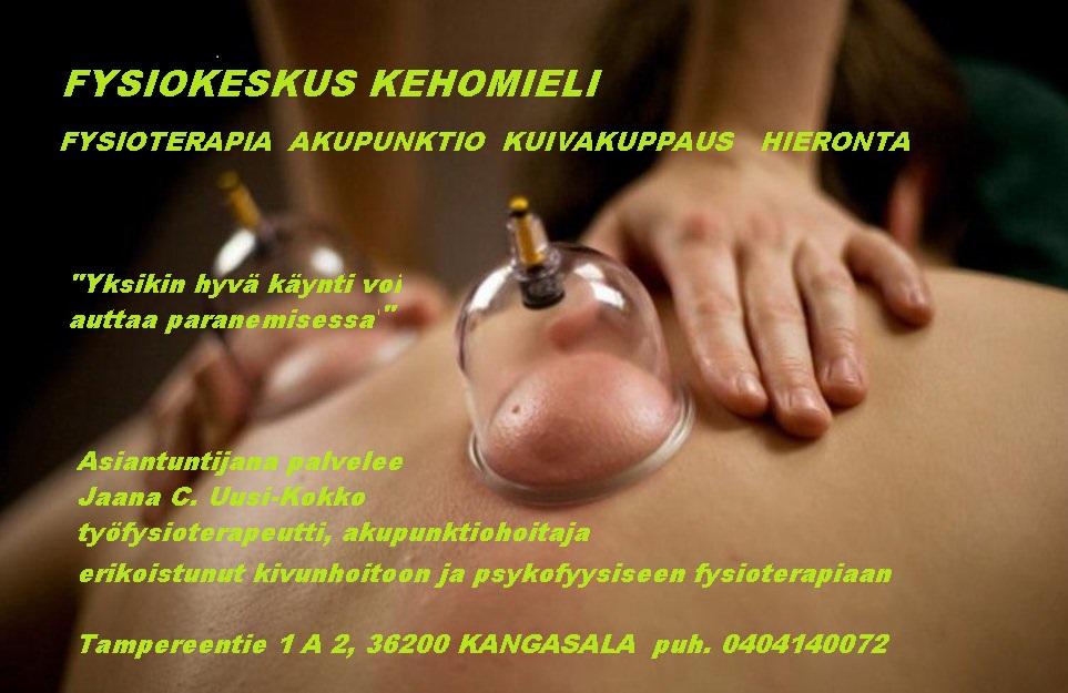 FYSIOKESKUS KEHOMIELI_mainos_kuppaus